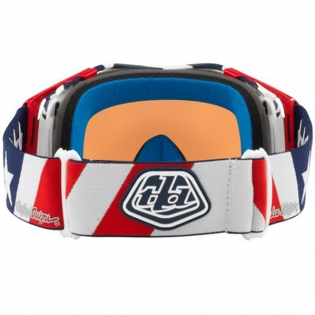 Oakley Airbrake Troy Lee Sig Liberty Red Wht Blue Prizm MX Goggles Image 4