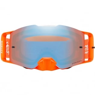 Oakley Front Line Troy Lee Sig Metric Red Org Prizm MX Goggles Image 2