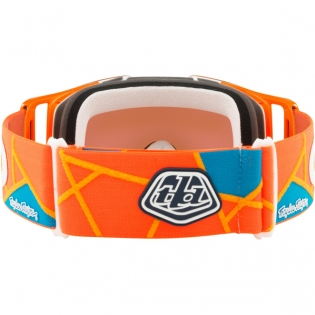 Oakley Front Line Troy Lee Sig Metric Red Org Prizm MX Goggles Image 4
