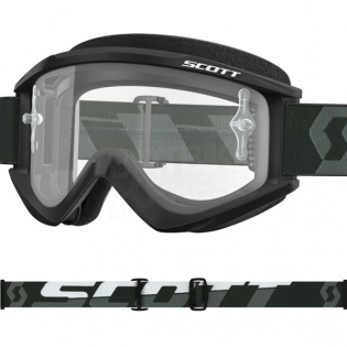 Scott Recoil Xi Black White Goggles Image 2