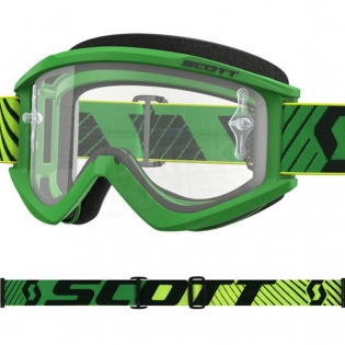 Scott Recoil Xi Green Yellow Goggles Image 2