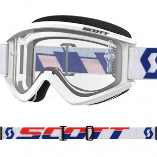 Scott Recoil Xi White Red Goggles Image 2