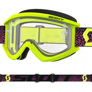 Scott Recoil Xi Yellow Pink Goggles Image 2