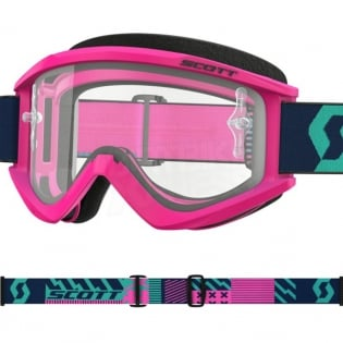 Scott Recoil Xi Pink Teal Goggles Image 2