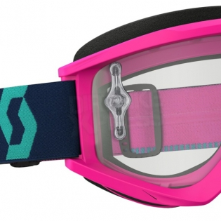 Scott Recoil Xi Pink Teal Goggles Image 4