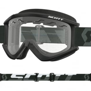 Scott Recoil Xi Black White Enduro Goggles  Image 2
