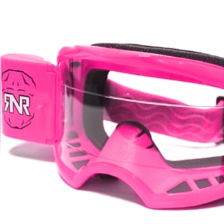 Rip n Roll Colossus WVS Neon Pink Roll Off Goggles Image 2