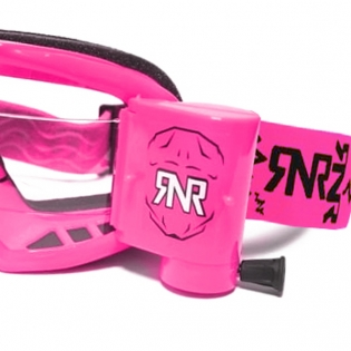 Rip n Roll Colossus WVS Neon Pink Roll Off Goggles Image 4