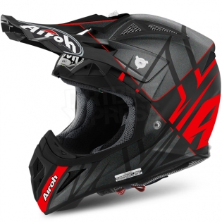2018 Airoh Aviator 2.2 Helmet Styling Red Matt Image 2