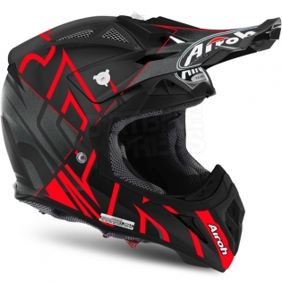 2018 Airoh Aviator 2.2 Helmet Styling Red Matt Image 4