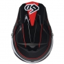 6D ATR-2 Circuit Black Red Helmet