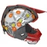 6D ATR-2 Circuit Red White Blue Helmet
