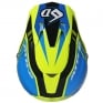 6D ATR-2 Strike Neon Yellow Blue Helmet