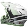 Bell Moto 9 Carbon Flex Hound Green White Black Helmet