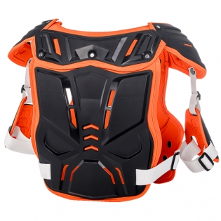 ONeal PXR Stone Shield Black Orange Chest Protector Image 3