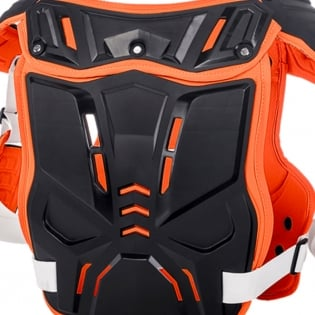 ONeal PXR Stone Shield Black Orange Chest Protector Image 4
