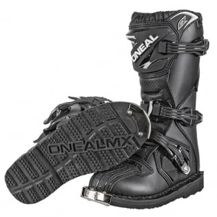ONeal Rider Kids Black Boots Image 4