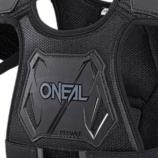 ONeal Pee Wee Kids Black Chest Guard Image 2