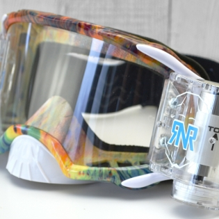 Rip n Roll Platinum WVS Slick Roll Off Goggles Image 2