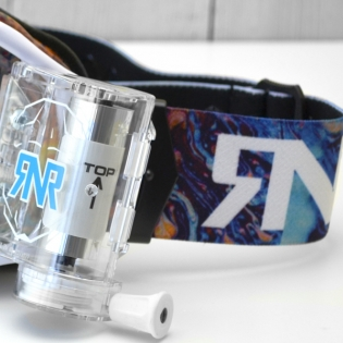 Rip n Roll Platinum WVS Slick Roll Off Goggles Image 4