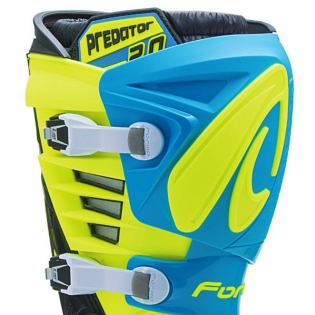 Forma Predator 2.0 Light Blue Fluo Yellow Boots Image 2