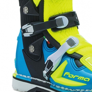 Forma Predator 2.0 Light Blue Fluo Yellow Boots Image 4