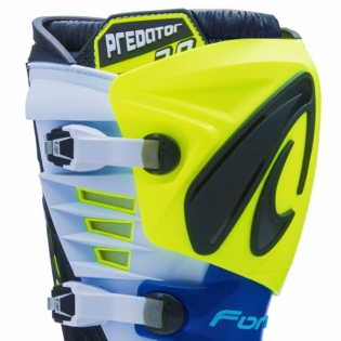 Forma Predator 2.0 Fluo Yellow White Blue Boots Image 2