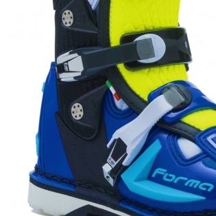 Forma Predator 2.0 Fluo Yellow White Blue Boots Image 4