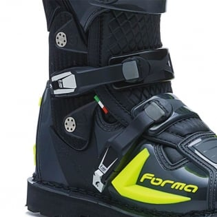 Forma Predator 2.0 Anthracite Fluo Yellow Boots Image 4