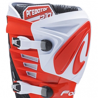 Forma Predator 2.0 White Red Blue Boots Image 2