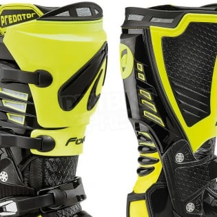 Forma Predator Black Fluo Yellow Boots Image 2