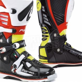 Forma Predator Black Fluo Yellow Red Boots Image 4