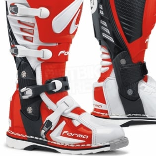 Forma Predator White Red Boots Image 2