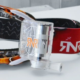 Rip n Roll Platinum WVS Red Tattoo Roll Off Goggles Image 4