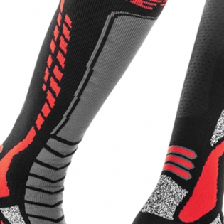 Acerbis Pro Black Red Motocross Socks Image 3