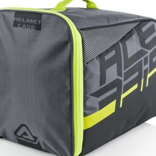 Acerbis Black Yellow Helmet Bag Image 2
