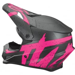 Thor Sector Hype Grey Pink Helmet Image 3