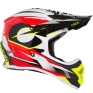 ONeal 3 Series Riff Red Motocross Helmet