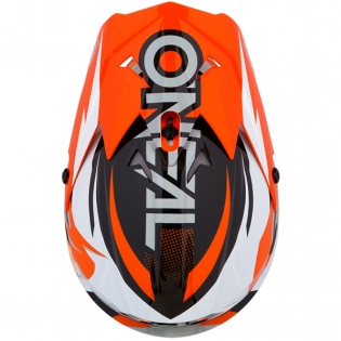 ONeal 3 Series Riff Orange Motocross Helmet Image 3