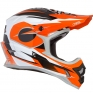 ONeal 3 Series Riff Orange Motocross Helmet