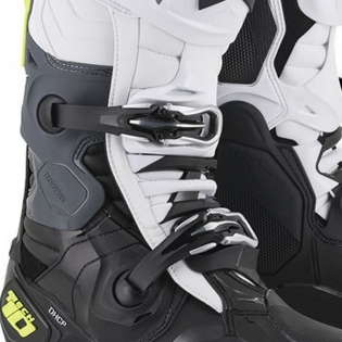 Alpinestars Tech 10 Black White Yellow Fluo Boots Image 3