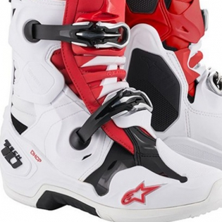 Alpinestars Tech 10 Red White Black Boots Image 4