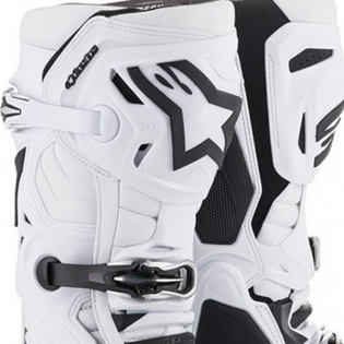 Alpinestars Tech 10 White Boots Image 2