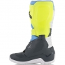 Alpinestars Tech 3 Cool Grey Fluo Yellow Cyan Boots