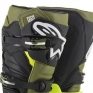 Alpinestars Tech 7 Flo Yellow Military Green Black Boots