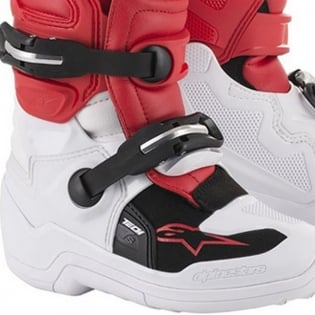 Alpinestars Kids Tech 7S White Red Grey Boots Image 4