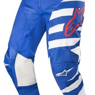 Alpinestars Racer Braap Pants - Blue White Red Image 3