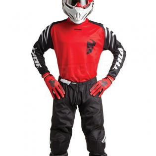Thor Kids Sector Zones Red Jersey Image 2