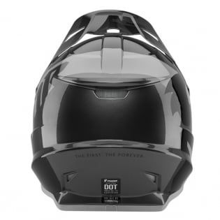 Thor Sector Shear Black Charcoal Helmet Image 2