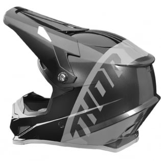 Thor Sector Shear Black Charcoal Helmet Image 3